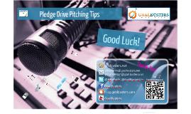Pledge Drive Training for Public Radio and Television