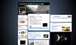 Creando un proyecto para la Web