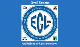 Copy of Oral Exams: Guidelines and Best Practices