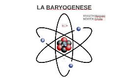 La baryogenese