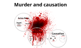 Murder and Causation