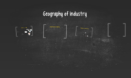 Geography of industry