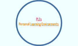 Personal Learning Environments para EPC