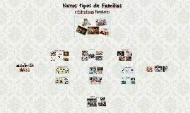 Novos Tipos de Famílias e Estruturas Familiares
