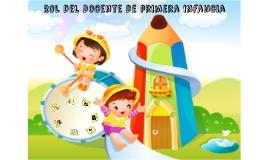Copy of Gráfico - Rol del Docente de primera infancia