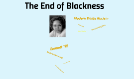 The End of Blackness By: Debra Dickerson