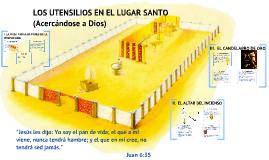Copy of LOS UTENSILIOS EN EL LUGAR SANTO