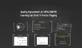 Copy of Quality Improvement at CHFHC/NHFMR