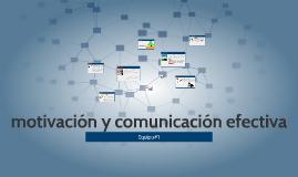 Copy of motivación y comunicación efectiva