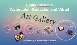 Emily Carran's Art Gallery