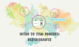 Intro to thm project: restaurants