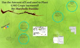 GMO Crops Land Presentation