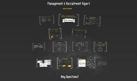 Management & Recruitment Report