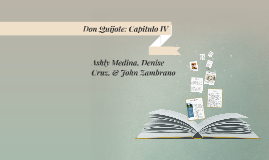 Don Quijote: Capitulo IV
