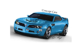 Copy of Concept Cars