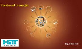 Copy of Nuestro sol tu energia: