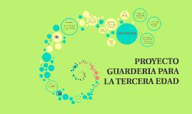 Copy of PROYECTO GUARDERIA PARA LA TERCERA EDAD