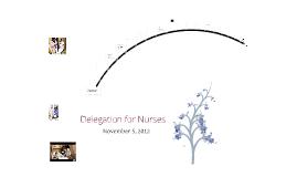 Time Management and Delegation for Nurses