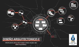 PROPUESTA DE DISEÑO ARQUITECTONICO DE MUSEO DE ARTE