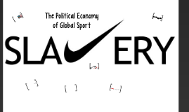 The Political Economy of Global Sport - Dr. Matthews