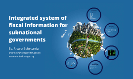 Integrated system of fiscal information for subnational governments