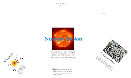Copy of Nuclear Fusion