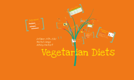 Copy of Vegetarian Lifestyle and Nutrition