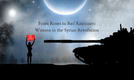 Copy of Women in the Syrian Revolution