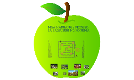 PROSESO SA PAGSUSURI NG PONEMA