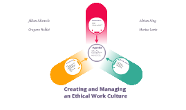 Ethical Work Culture