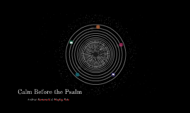 Psalms in Your Palms