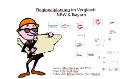 Regionalplanung im Vergleich