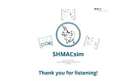 SHMACsim presentation - 18.09.2013