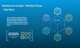 Realidad Aumentada - Realidad Virtual