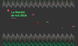 CS La Marató de tv3 2016