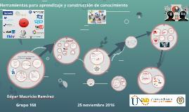 Copy of Herramientas para aprendizaje y construcción conocimiento