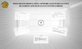 IMPLEMENTASI DIGITAL LIVING NETWORK ALIANCE (DLNA) UNTUK MUL