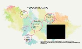 TECNICAS DE PROMOCION DE VANTAS
