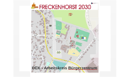 OEK - Arbeitskreis Bürgerzentrum - Nutzungskonzept