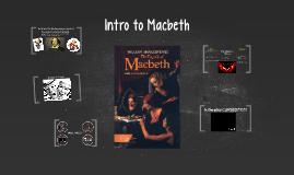 Copy of Intro to Macbeth