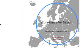 Organe und Arbeitsweise der EU