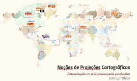 Copy of Noções de Progeções Cartográficas