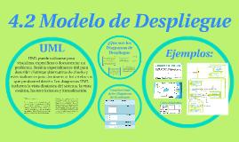4.2 Modelo de Despliegue