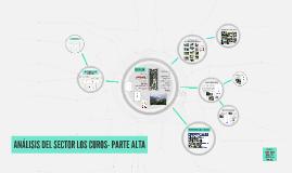 SECTOR LOS CUROS- PARTE ALTA