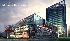 Ma'soem University