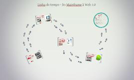 Linha do tempo - Do Mainframe à Web 3.0