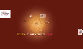 CODEX ALIMENTARIUS INTERNACIONAL Y EN PERU