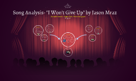 "Song Analysis- ""I Won't Give Up"" by Jason Mraz"
