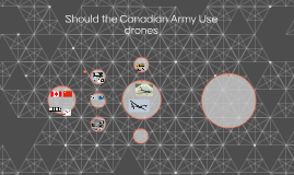 Should the Canadian Army Use drones