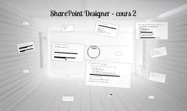 Cours 2 - sharepoint designer